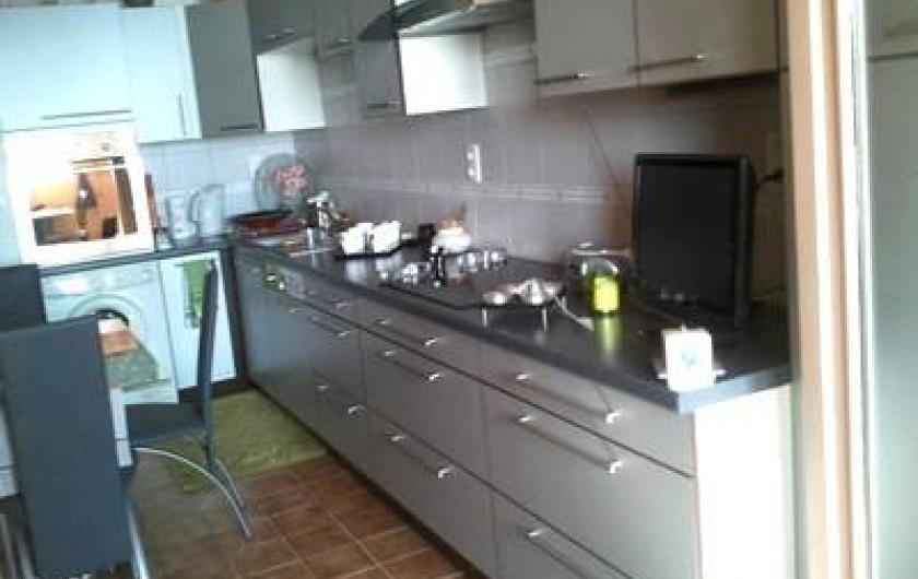 Location de vacances - Appartement à Cerbère - la cuisine