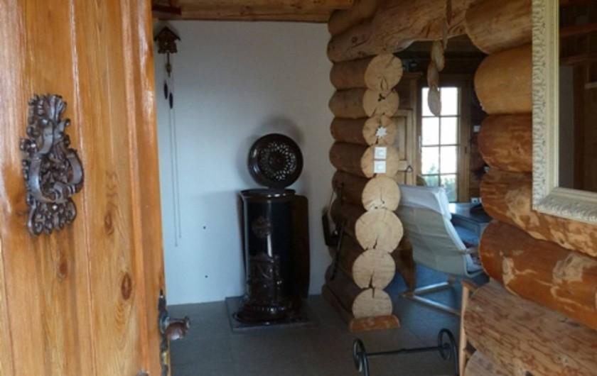 Location de vacances - Chalet à La Bresse - Entree