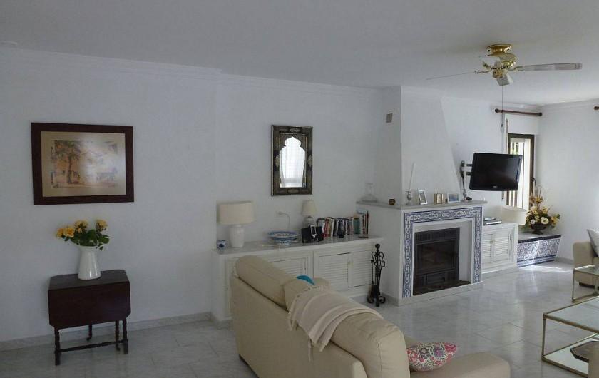 Location de vacances - Maison - Villa à San Andrés Golf - le salon