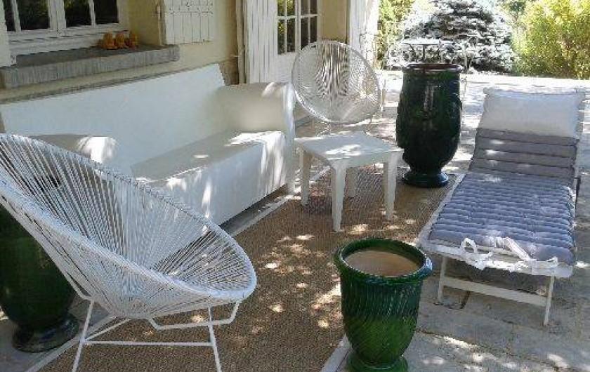 Location de vacances - Villa à Sarrians - terrasse