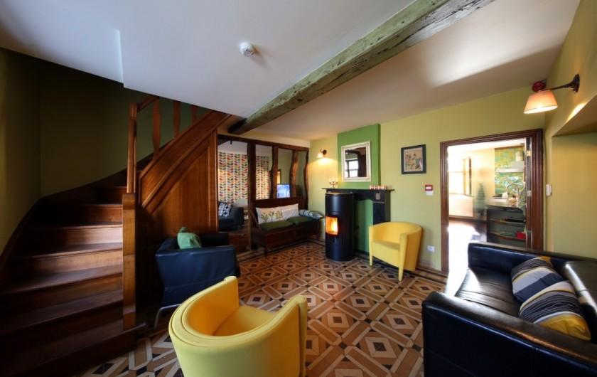 Location de vacances - Gîte à Malempré - Salon 1