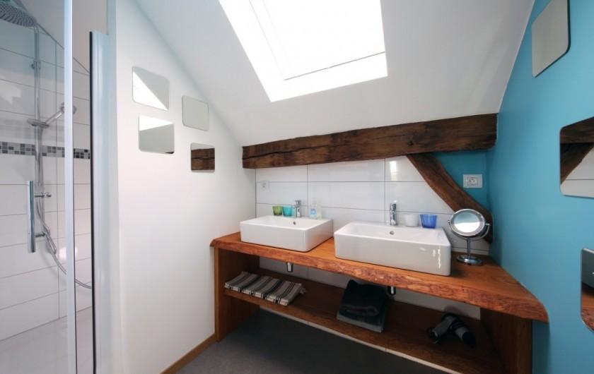 Location de vacances - Gîte à Malempré - Salle de bain grenier 1