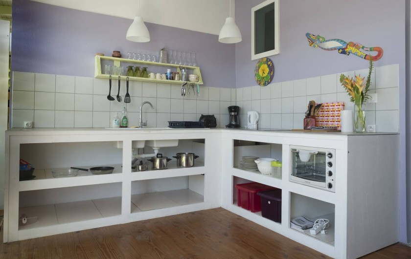 Location de vacances - Gîte à Saint-François - cuisine du studio