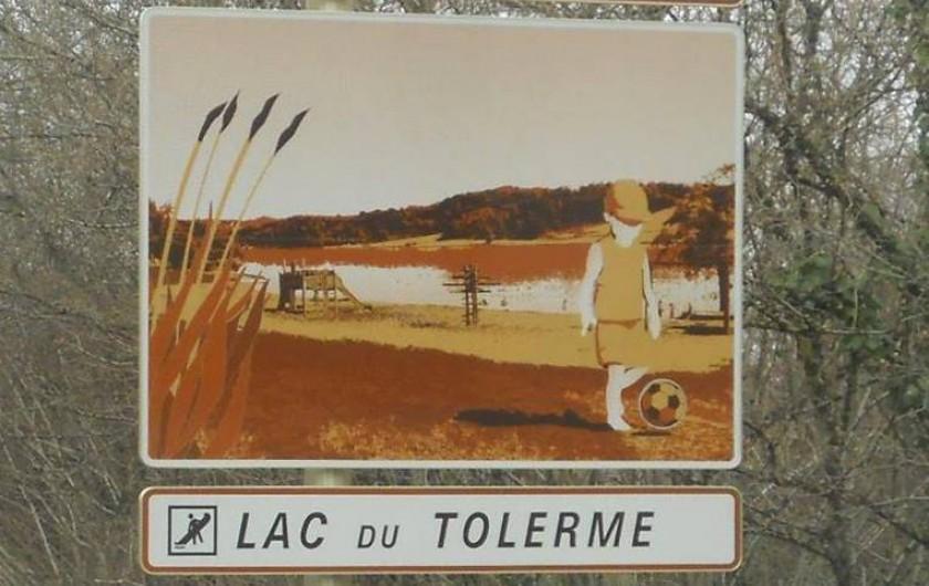 Location de vacances - Gîte à Lacam-d'Ourcet - Lac du Tolerme à proximité .