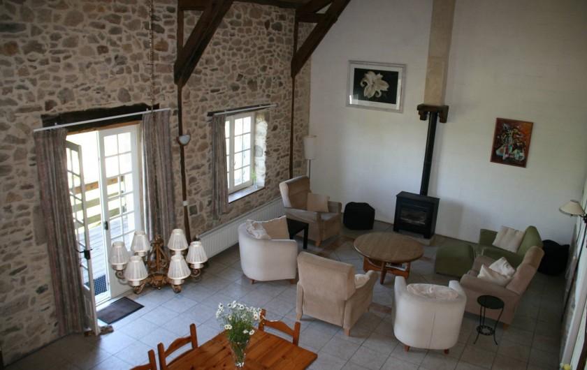 Location de vacances - Gîte à Lacam-d'Ourcet - Salle de séjour