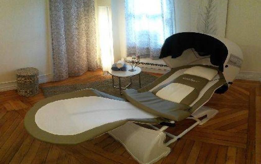 Location de vacances - Hôtel - Auberge à Ville de Québec - ... et massage NeuroSpa - la rélaxation du corps entier