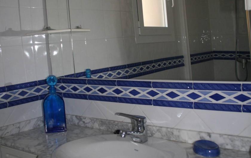 Location de vacances - Villa à Xàbia - Salle de douche