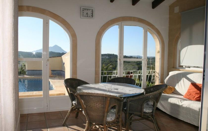 Location de vacances - Villa à Xàbia - Véranda