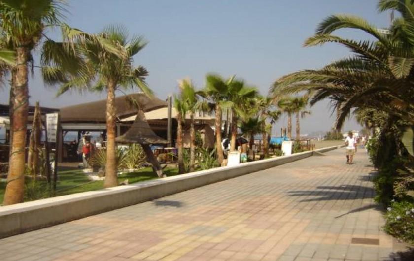 Location de vacances - Appartement à Torrox Costa - PROMENADE