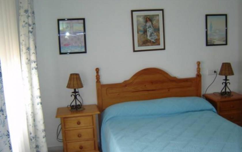 Location de vacances - Appartement à Torrox Costa - CHAMBRE LIT-DOUBLE