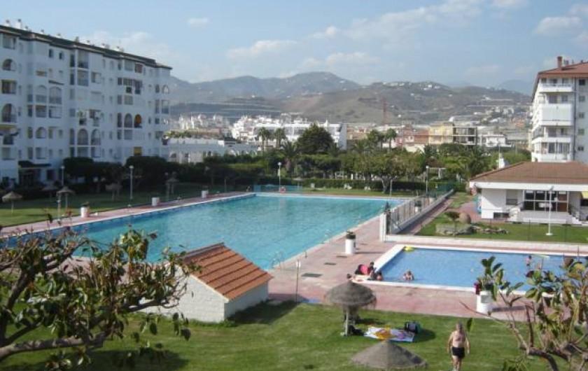 Location de vacances - Appartement à Torrox Costa - PISCINE OLIMPIQUE