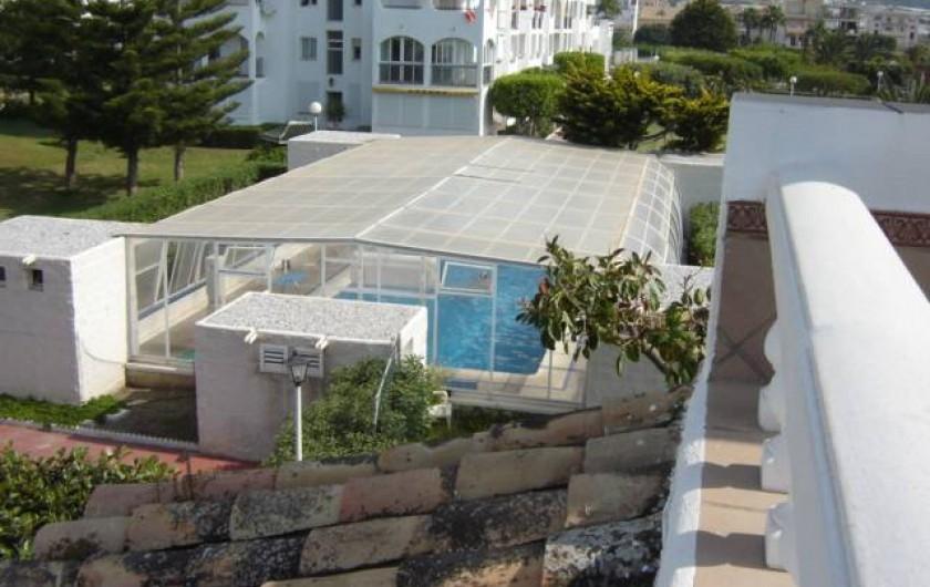 Location de vacances - Appartement à Torrox Costa - PISCINE COUVERTE HIVER