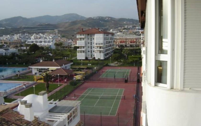 Location de vacances - Appartement à Torrox Costa - PISCINE OLIMPIQUE ET TENNIS