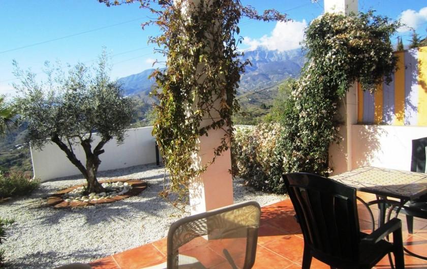 Location de vacances - Gîte à Vélez-Málaga - TERRASSE PRIVATIVE