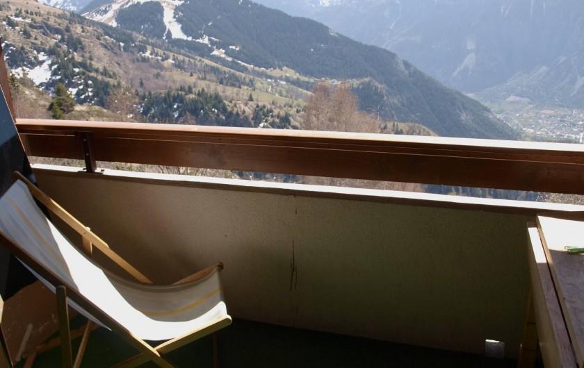 Location de vacances - Studio à L'Alpe d'Huez - Chaise Longue
