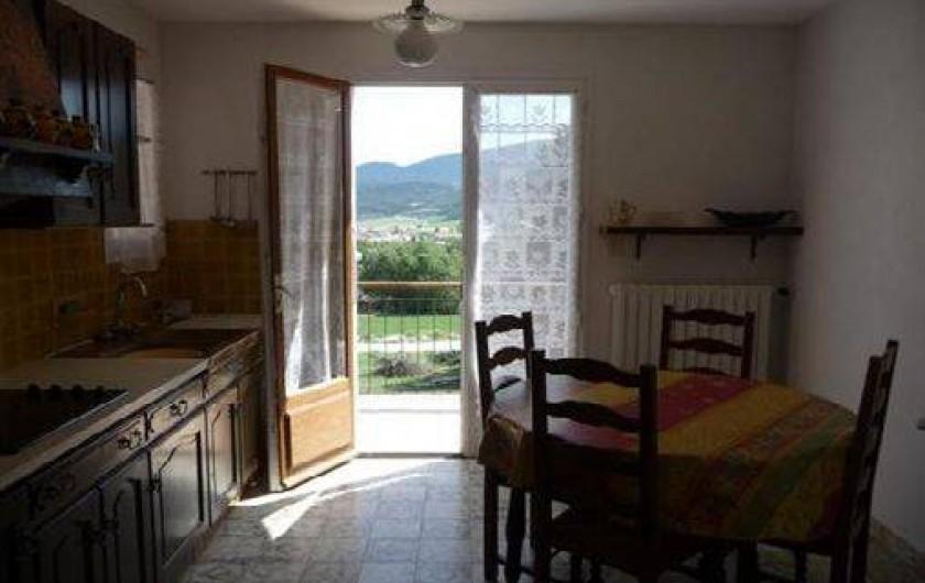 Location de vacances - Appartement à Chorges - Cuisine n°1
