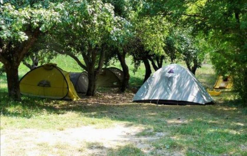 Location de vacances - Camping à Éourres - Camping de Bamboul'âne