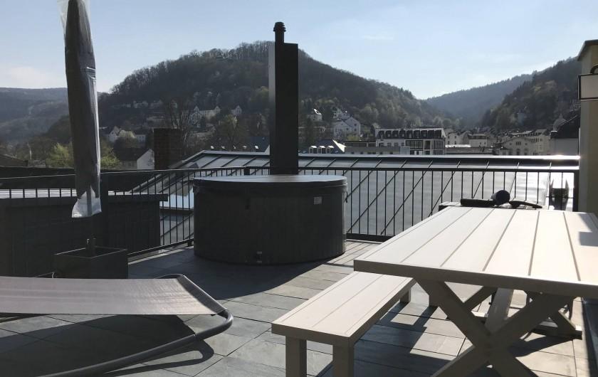 Location de vacances - Appartement à Bad Ems - Ameublement du terrasse