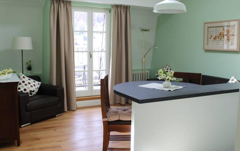 Location de vacances - Appartement à Bad Ems - Chambre de séjour