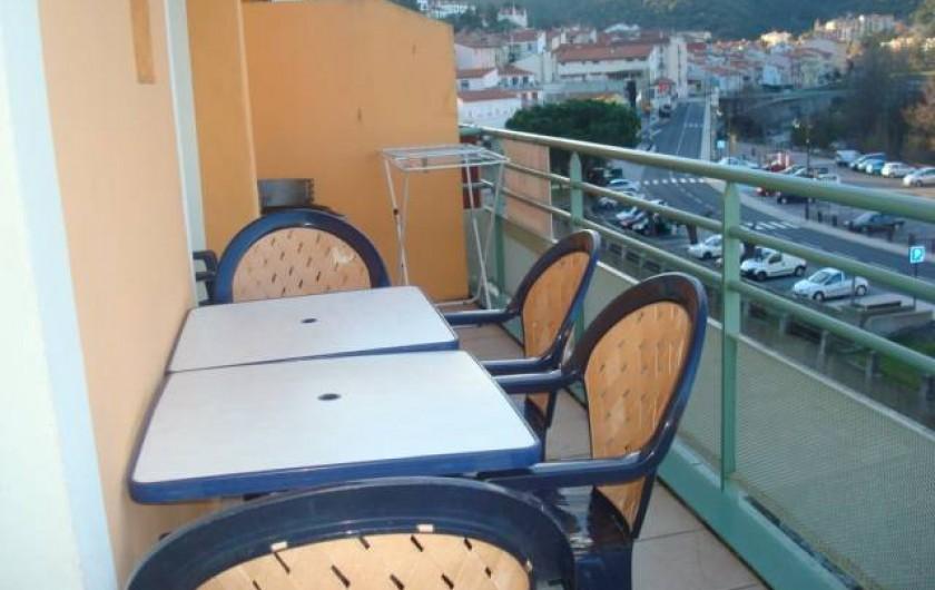 Location de vacances - Appartement à Amélie-les-Bains-Palalda - terrasse