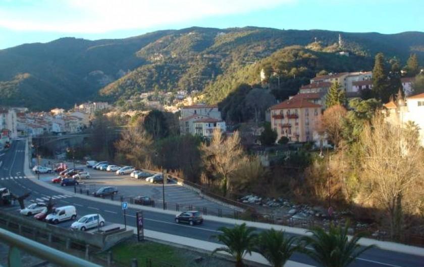 Location de vacances - Appartement à Amélie-les-Bains-Palalda - vue montagne