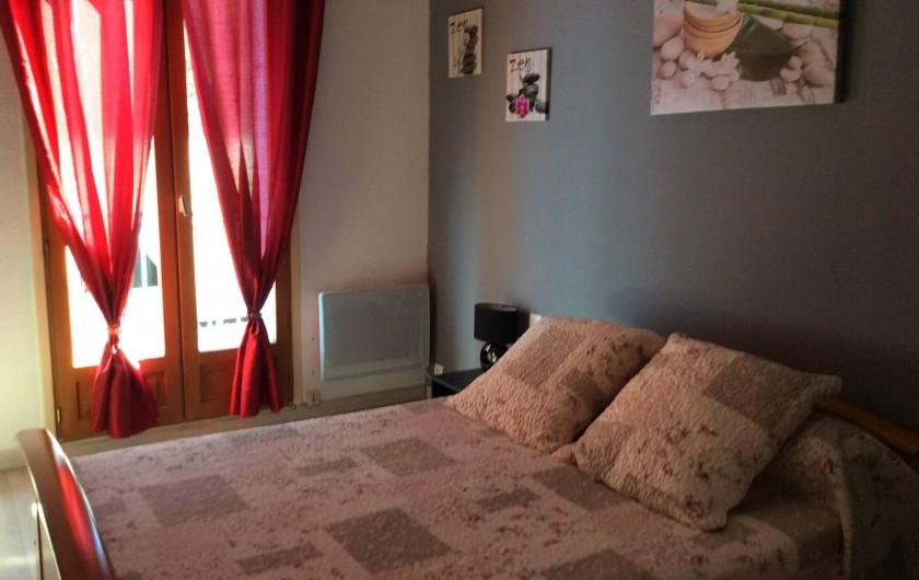 Location de vacances - Appartement à Amélie-les-Bains-Palalda - chambre 1