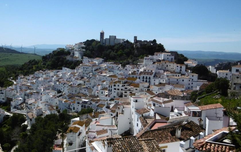 Location de vacances - Appartement à Marina de Casares - Le village de Casares (haut perché) se trouve à une  quinzaine de minutes