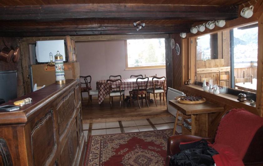 Location de vacances - Chalet à Châtel - SALLE À MANGER CUISINE