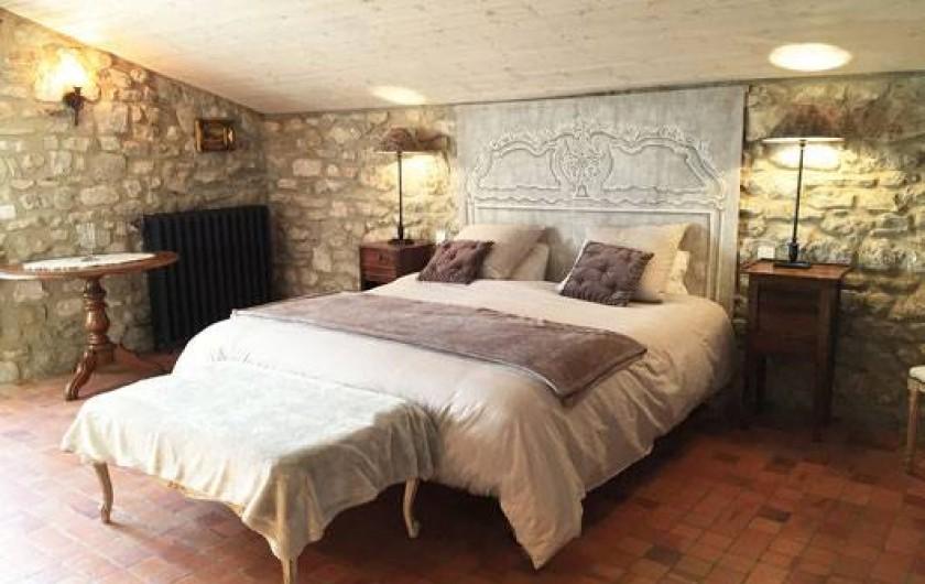 Location de vacances - Chambre d'hôtes à Réauville - Chambre Romantique