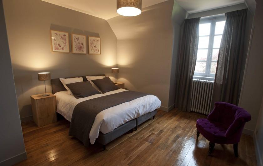 Location de vacances - Gîte à Chambord - Gîte Salamandre - chambre avec lit double