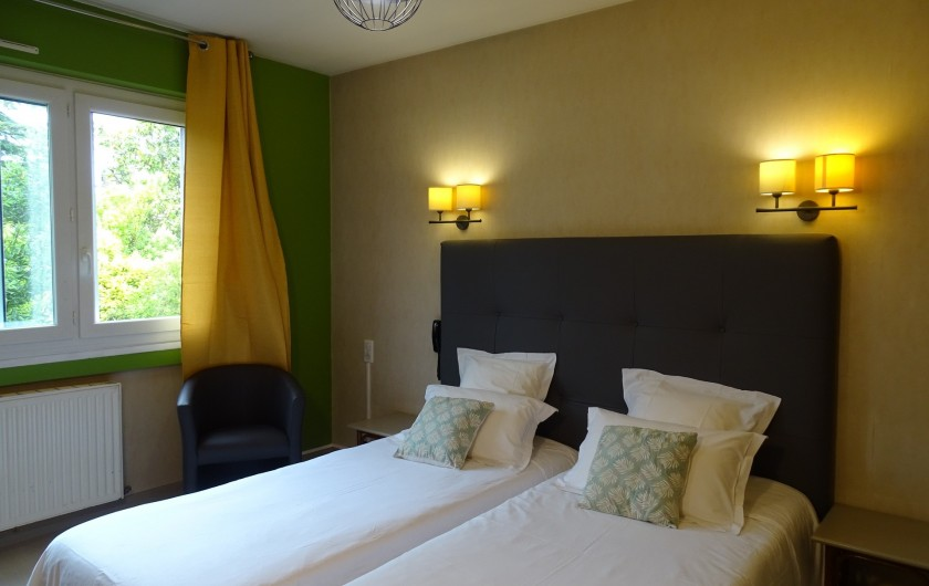 Location de vacances - Hôtel - Auberge à Albi - Chambre confort Twin