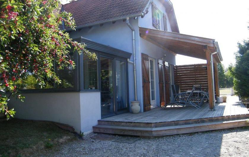 Location de vacances - Gîte à Kertzfeld - terrasse