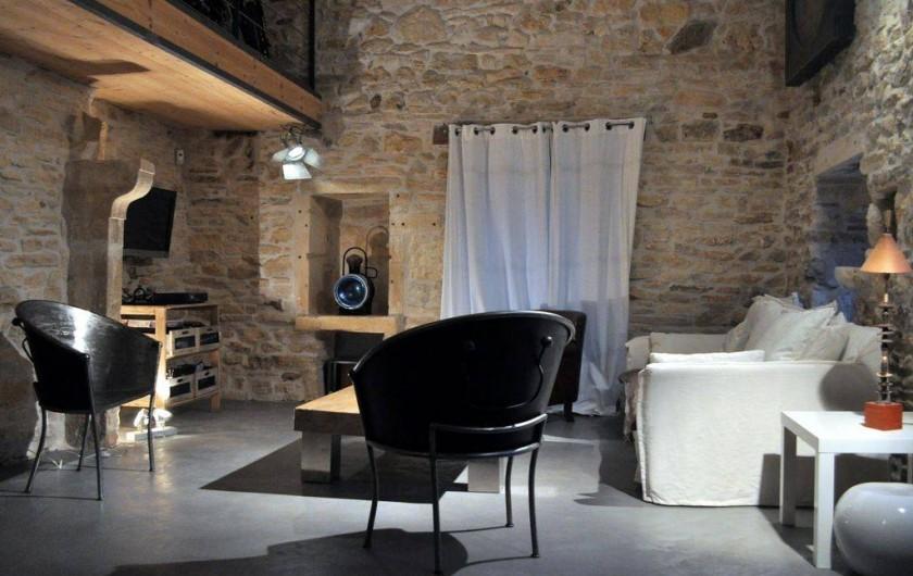 Location de vacances - Mas à Barjac - salon
