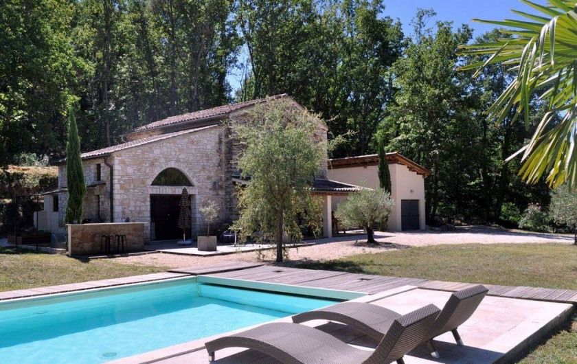 Location de vacances - Mas à Barjac
