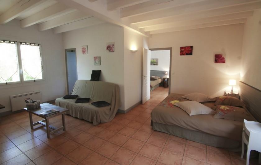 Location de vacances - Chambre d'hôtes à Simeyrols - Chambre familiale Sarlat (ch2)