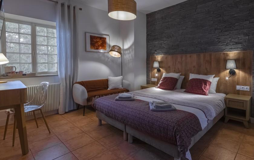 Location de vacances - Chambre d'hôtes à Simeyrols - Chambre Domme