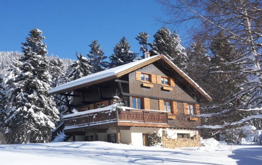 Location de vacances - Chalet à Xonrupt-Longemer - Sous la neige
