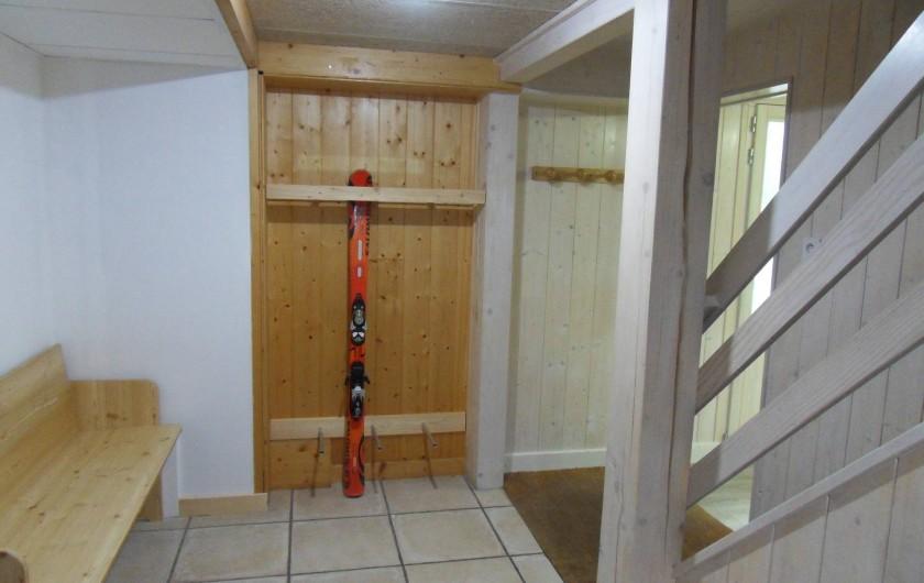 Location de vacances - Chalet à Xonrupt-Longemer - Rangement skis