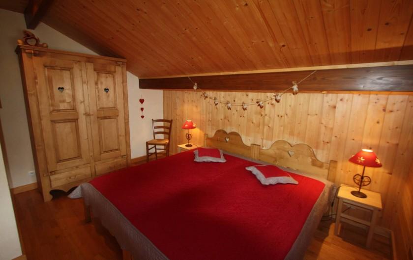 Location de vacances - Chalet à Xonrupt-Longemer - chambre à 2 lits simples
