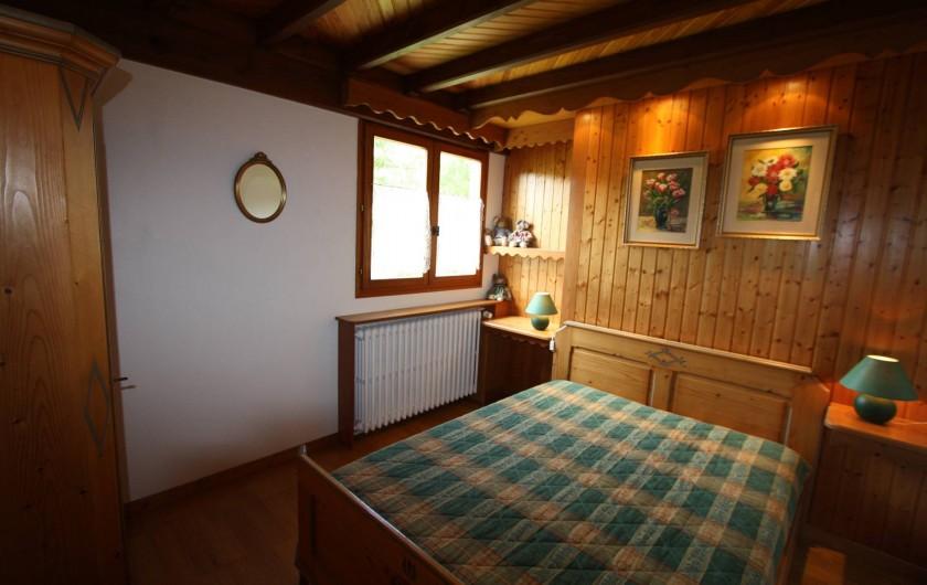 Location de vacances - Chalet à Xonrupt-Longemer - Chambre lit140*190