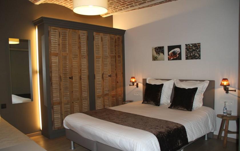 Location de vacances - Chambre d'hôtes à Zwevegem - Chambre Cacao