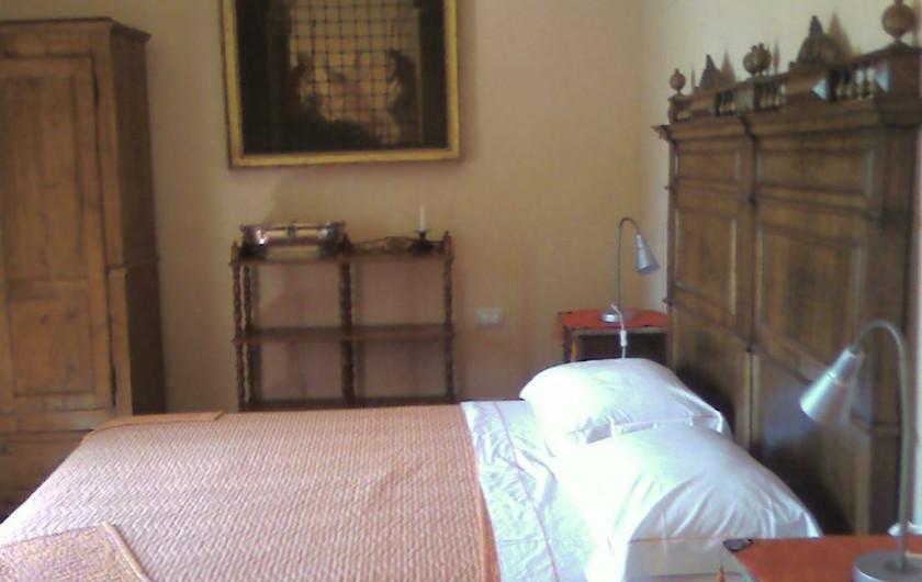 Location de vacances - Appartement à Incisa in Val d'Arno - La chambre au pèches