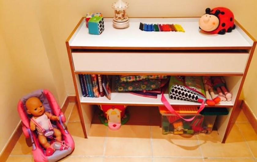 Location de vacances - Appartement à Besalú - Petite chambre pour les plus petits... pour jouer!