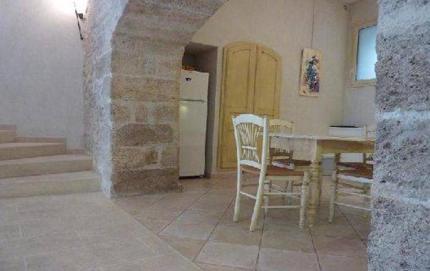 Location de vacances - Appartement à Robion - Voute d'origine