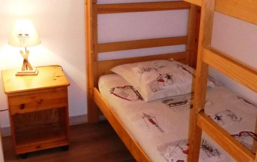 Location de vacances - Chalet à L'Alpe d'Huez - Chambre 4