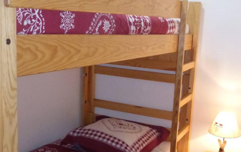 Location de vacances - Chalet à L'Alpe d'Huez - Chambre 5