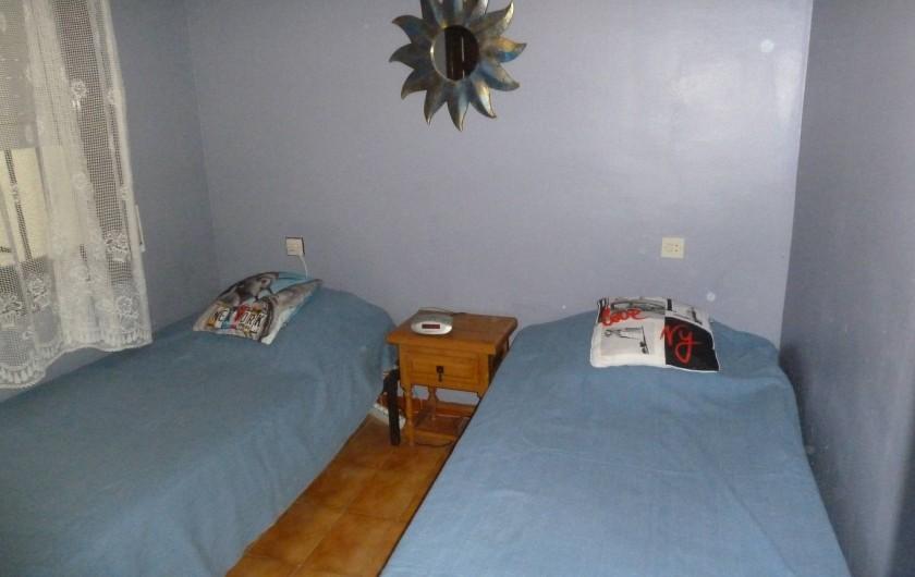 Location de vacances - Appartement à Roses - Chambre
