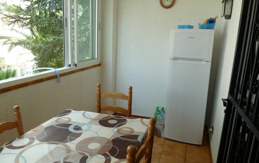 Location de vacances - Appartement à Roses - balcon