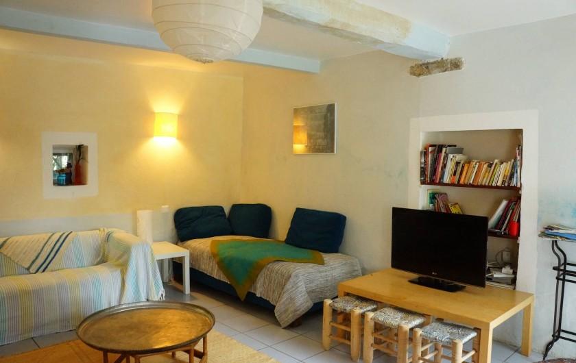 Location de vacances - Villa à Marsanne - Séjour