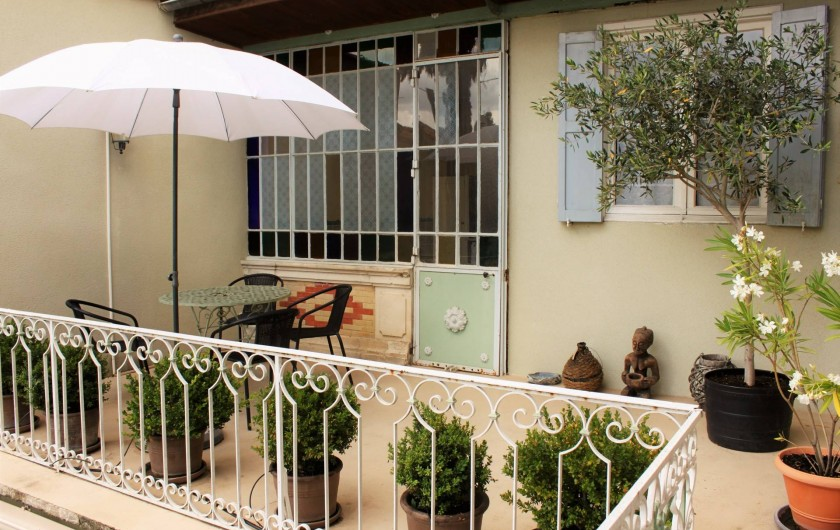 Location de vacances - Villa à Bram - Terrasse